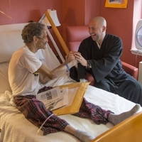 Koshin Paley Ellison is a chaplain in a hospice. (Photo by Loris Guzzetta)
