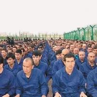 Uihgur detainment camp in so called Xinjiang Autonomous Region - via Xinjiang Judicial Administrations WeChat account