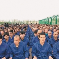 Uighur detainment camp in so called Xinjiang Autonomous Region - via Xinjiang Judicial Administrations WeChat account