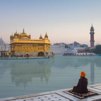 The Golden Temple  in Amritsar, Punjab India. Courtesy Auteur Productions