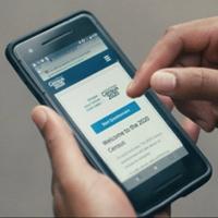 Mobile version of the 2020 US Census website. Public domain image by US Census Bureau