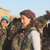 YPJ fighters in Northern Iraq. Creativ Commons image shared by flickr user Kurdishstruggle