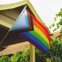 Quasar pride flag. Flag and image by Danieal Quasar shared under a Creative Commons By Attribution 4.0 license. Courtesy quasar.digitl
