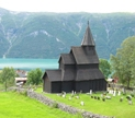 Urnes Stave Church, part of the Church of Norway (Bubamara | Wikipedia)