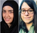 Aysha Khan and Holly Meyer. Images courtesy of Khan and Meyer