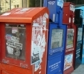 Newspaper Boxes. Image courtesy of Steve Harris via Flickr