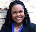 Portrait of Yolanda Pierce, dean of Howard University School of Divinity, (Curtesy Howard University)