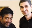 Jonathan Wilson-Hartgrove and Dr. Rev. William J.Barber II courtesy Jonathan Wilson-Hartgrove