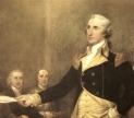 General George Washington Resigning His Commission. via Flickr user USCaptiol CC0-123x108