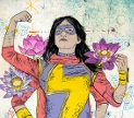 Kamala Khan/Lakshmi/Ms. Marvel. Shared under Creative Commons By Attribution licence, by flickr user Tofu Verde.