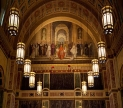 Interior of the Cathedral of St Matthew the Apostel, Washington DC. Image shared under a Creativ Commons, Share-alike 4.0 license by Matthew Roth, via Wikimedia Commons