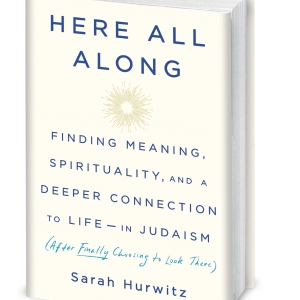 "Cover of Sarah Hurwitz's book ""Here All Along"""